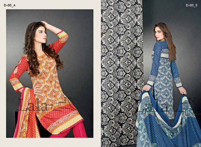 Sana & Samia - Khaddi Dresses Collection 2014 21