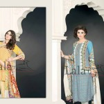Sana & Samia - Khaddi Dresses Collection 2014 7
