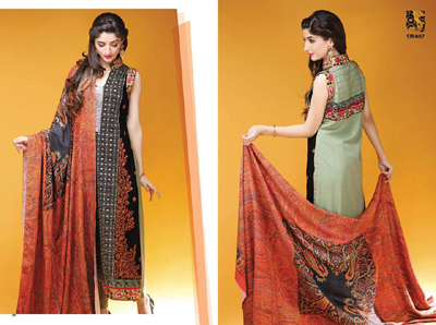 Shaista.cloth Winter Dresses Collection 2014-15 13