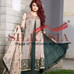 Silkasia Embroidered Dresses Collection 2014-15 11