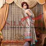 Silkasia Embroidered Dresses Collection 2014-15 3
