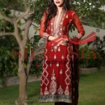 Silkasia Embroidered Dresses Collection 2014-15 4