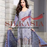 Silkasia Embroidered Dresses Collection 2014-15 8