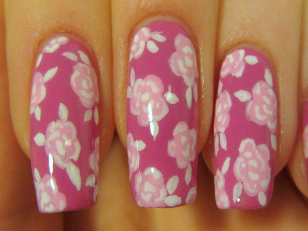 Best Spring Floral Nail Art Ideas