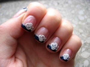 ideas about Rose Nail Art on Pinterest
