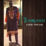Turquoise New Autumn Dresses Collection 2014-15 1