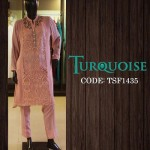 Turquoise New Autumn Dresses Collection 2014-15