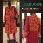 Turquoise New Autumn Dresses Collection 2014-15 2