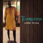 Turquoise New Autumn Dresses Collection 2014-15 6