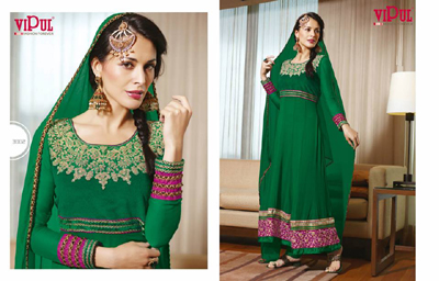 Zobi Fabrics Indian Party Wear Dresses Collection 2014-15 1