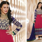 Zobi Fabrics Indian Party Wear Dresses Collection 2014-15 13