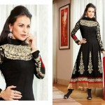 Zobi Fabrics Indian Party Wear Dresses Collection 2014-15 2