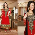 Zobi Fabrics Indian Party Wear Dresses Collection 2014-15 6