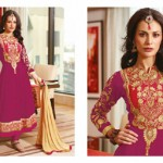 Zobi Fabrics Indian Party Wear Dresses Collection 2014-15 8