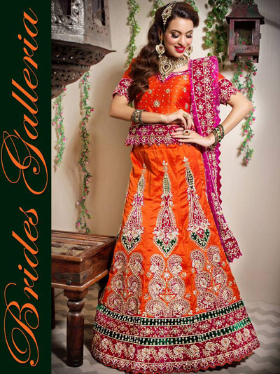 album Wedding Lehenga Collection 2014-15 1