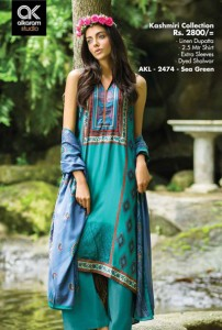 alkaram FallWinter Kashmiri Collection 2014 9