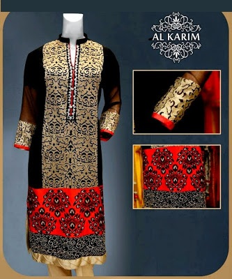 Al Karim Ready Made Lovely Dresses 2014-15 For Girls (5)