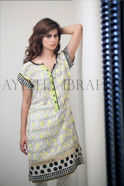 Ayesha Ibrahim Ladies Winter Garments 2014 (1)
