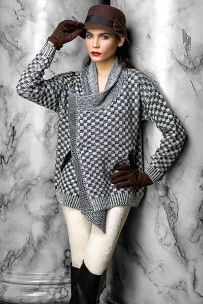 Bonanza Winter Wear Dresses Collection 2014-15