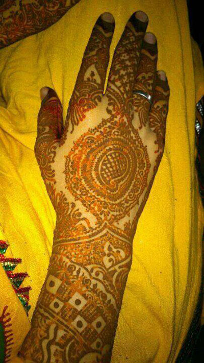 Bridal Mehndi Designs for Hands 3