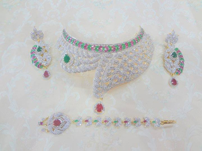 Bridal & Wedding Jewellery Sets Collection 2014-15 6