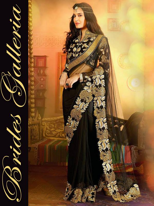Brides Galleria Lisa Haydon Marriage Sarees Gallery 2015 (7)
