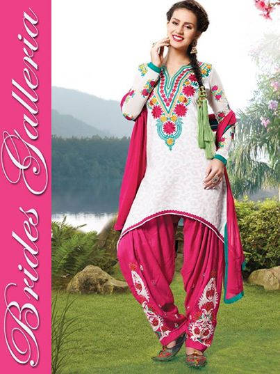 Brides Galleria Wonderful Faux Crepe Outfits Variety 2014 (8)