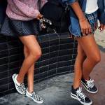 Cool Strategies to Pull Off Skirts and Footwear Vogue (8)