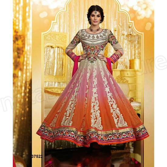 Current Indian Fashionable Beauty Outfits For Females 2014-15 (4)