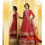 Current Indian Fashionable Beauty Outfits For Females 2014-15 (8)