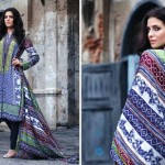 Feminine Winter Shawl Collection 2014-15 4
