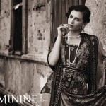 Feminine Winter Shawl Collection 2014-15 8