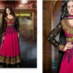 Floor Touch Padded Hottest Anarkali Clothes For Ladies (2)