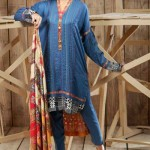 Hadiqa Kiani Fabric Fall Winter Dresses Collection 2014-15 2
