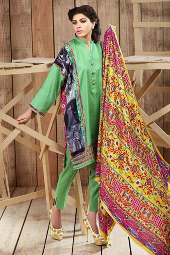 Hadiqa Kiani Fabric Fall Winter Dresses Collection 2014-15