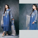 Ittehad Textile Fashionable Embroidery Clothes 2014 -15 (1)