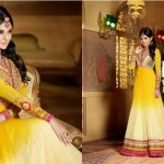 Jennifer Winget By Saheli Couture  Party Chic Garments Collection 2014-15 (4)