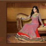 Jennifer Winget By Saheli Couture  Party Chic Garments Collection 2014-15 (6)