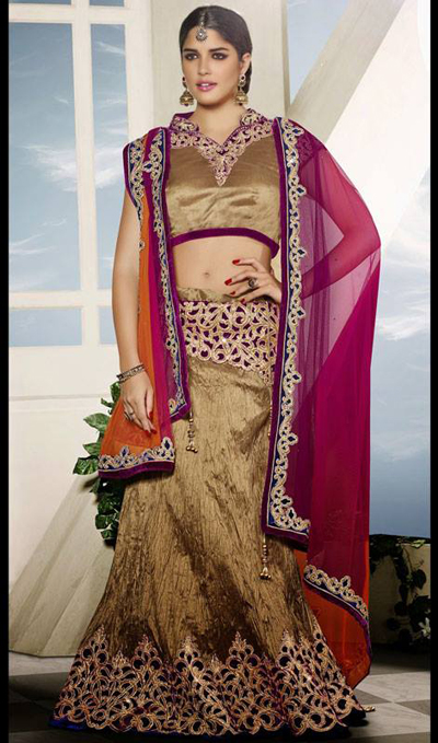 Kaneesha Lehenga Choli Collection 2014-15 1