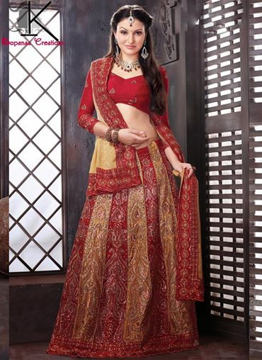 Kopanaa Designs Bridal Lehenga Choli Gorgeous Collection (1)
