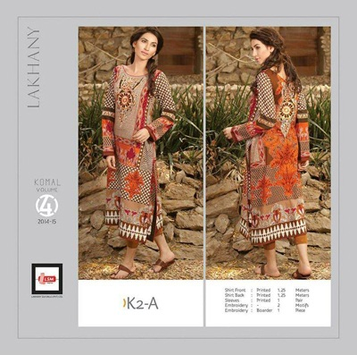 LSM Embroidery Komal Kurti Collection 2014-15 2