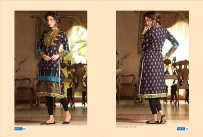 LSM Fabrics Winter Kurtis Collection 2014 1