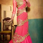 Latest Party Wear Trendsetter Saree Collection 2014-15 1