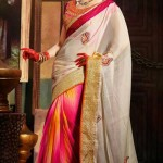 Latest Party Wear Trendsetter Saree Collection 2014-15 2