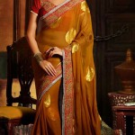 Latest Party Wear Trendsetter Saree Collection 2014-15 3