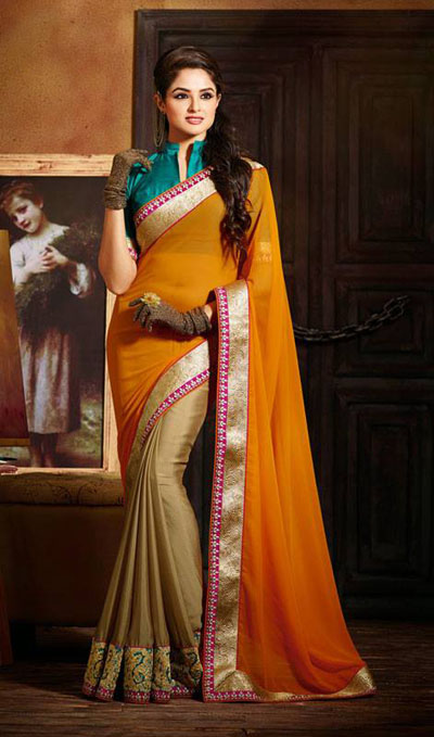 Latest Party Wear Trendsetter Saree Collection 2014-15 7