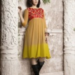 Lavish Padded Kurti Fashion Variety 2014-15 For Ladies (5)