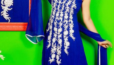 Lovely Designer Party Wear Gown 2014-15 1