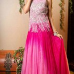 Lovely Designer Party Wear Gown 2014-15 8