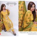 Modern Foggy Seasonal Dresses 2015 For Girls By Ghani Textile (1)